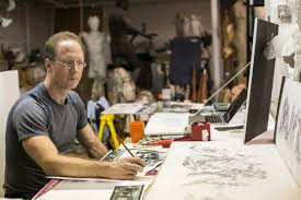 sabin howard works on drawing concepts for his the weight of sacrifice for the national world war i memorial benjamin chas epoch times