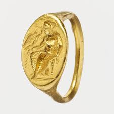 women in classical essay heilbrunn timeline of art  gold ring intaglio of seated w and flying eros