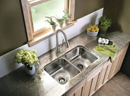 best kitchen sink faucet brushed nickel kitchen faucet with single handle on double kitchen sinks wall best kitchen sink faucet
