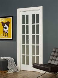 wood glass bifold doors