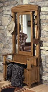 Coat Rack Bench With Mirror Hallway Bench With Mirror Foter 2