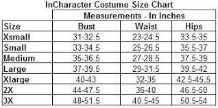 Adult Size Chart I Tutus Tutu Size Chart Adult