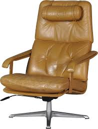 swedish leather swivel lounge chair 1960s previous next