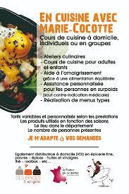 En Cuisine Avec Marie Cocotte Cours De Cuisine à Domicile Une