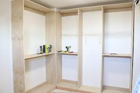 building a diy custom closet system in my walk in master closet