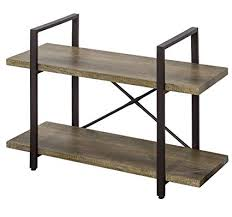Industrial style furniture Coffee Table Image Unavailable Amazoncom Amazoncom Ok Furniture 2tier Bookcase Vintage Industrial Style