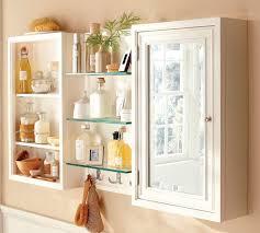 White Mirrored Bathroom Cabinets Small Bathroom Cabinets White
