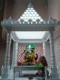 thermocol temple thermocol pinterest temple decoration and