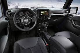 jeep wrangler 4 door interior. for better or worse the wrangleru0027s interior is decidedly oldschool jeep wrangler 4 door i