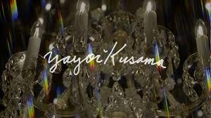 yayoi kusama at victoria miro chandelier of grief