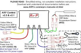 norcold specification table wiring