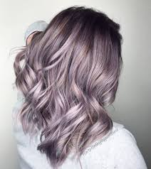 Light Purple And Silver Hair Dusty Lavender Hairpaintingbygiovanna Used Guytang