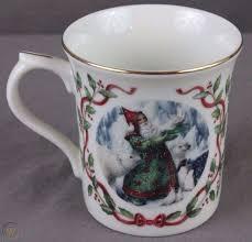 Ceramic and glass coffee mugs and cups, large coffee mugs, teacups and more. Lenox Magic Of Christmas Coffee Mug Cup Santa S Gift Of Peace 1815522019