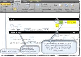 Form Microsoft Word Create A Form Using Word Content Controls