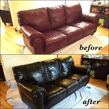 leather furniture dye red leather sofa changed to mahogany color before and after leather furniture dye leather furniture dye