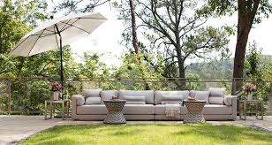 Summer outdoor furniture Canopy Kathy Kuo Home Summer Classics Outdoor Furniture Kathy Kuo Home