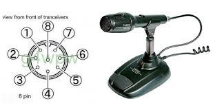 yaesu md 100 mic wiring Wiring Diagram for Heat Pump System Heil Microphone Wiring Diagram #49