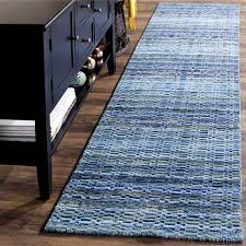 safavieh handmade himalaya blue multicolored wool stripe runner rug inside striped ideas architecture striped