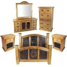Rustic Pine Bedroom Furniture Rustic Pine King Bedroom Set