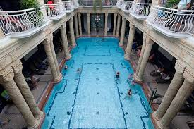 public swimming pool. Wonderful Pool Bathtub Warm Waters Beckon Visitors Amid Splendid Architecture At  Hungaryu0027s Gellert Baths Image With Public Swimming Pool
