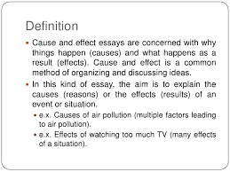 writing a cause and effect essay the oscillation band writing a cause and effect essay