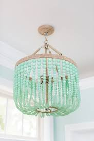 chandeliers light with regard to most popular diy turquoise beaded chandeliers view 3 of