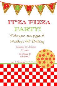 Pizza Party Invitation Templates Pizza Party Flyer Template Rome Fontanacountryinn Com