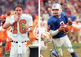 Peyton Manning and Tim Couch in epic duel 1997 Kentucky Photo Archive
