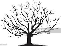 60点の葉のない木のイラスト素材クリップアート素材マンガ素材