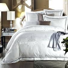 All White Bed Comforter White Bed Comforters Target White Bed ... & White Bedroom Comforter Sets White Bed Set Jacquard Silk Home Textile  Bedding Set Luxury 4 6pcs Adamdwight.com