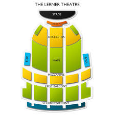 The Lerner Theatre 2019 Seating Chart