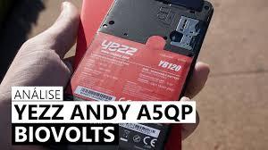 Yezz Andy A5QP - Análise - YouTube