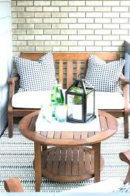Small space patio furniture Back Garden Small Space Patio Furniture Chairs Balcony Filled With Wooden Table And Modern Outdoor Elle Decor Decoration Outdoor Furniture Small Space