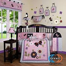 Amazon GEENNY Boutique 13 Piece Crib Bedding Set Daisy