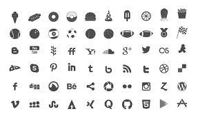 free social a icon sets