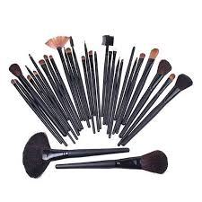 professional makeup brush set tools cosmetic make up brush kit make up brushes tools set black pouch bag brush set brush sets from gl smoke
