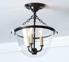 glass flush mount ceiling light pottery barn semi flush mount ceiling light replacement glass