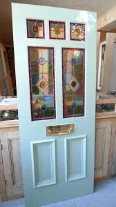 how to stain a front door a style stained glass front door incorporating 3 over 2