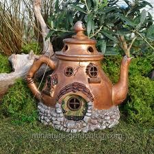 L Tea Pot House  Where To Buy Miniature And Fairy Garden Houses U2013 Part I