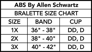 Abs Size Chart Abs By Allen Schwartz Womens 2 Pack Plus Size Seamless Removable Cups Wire Free Cage Front Bralette