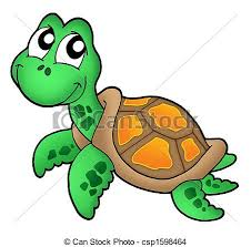 Small Picture Drawing of Little sea turtle color illustration csp1598464