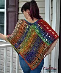 Free Crochet Poncho Patterns Best 48 Crochet Poncho Patterns AllFreeCrochet