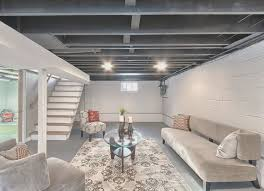Image of: Basement Creative What To Do With Concrete Basement Walls Home