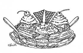 ice cream sundae coloring page. Unique Page Download Sundae Ice Cream Coloring Pages Or Print To Page S