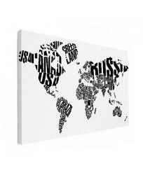 Wereldkaart Met Letters En Landennamen Wereldkaartennl