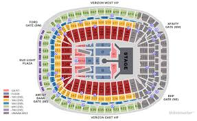 Nrg Concert Seating Chart 26 Specific Reliant Monster Jam Seating Chart