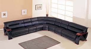 extra long leather sofa. Long Sectional Sofa Bright Dark Black Colored Sofas Large Size Softly High End Design And Modern Extra Leather K
