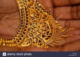 Gold Cheek Necklace Design Gold Golden Jewellery Stock Photos Gold Golden Jewellery