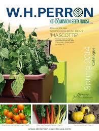 garden seed catalogs. Seed Catalogs: W. H. Perron - Www.dominion-seed-house Garden Catalogs