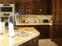 golden rustic granite countertop
